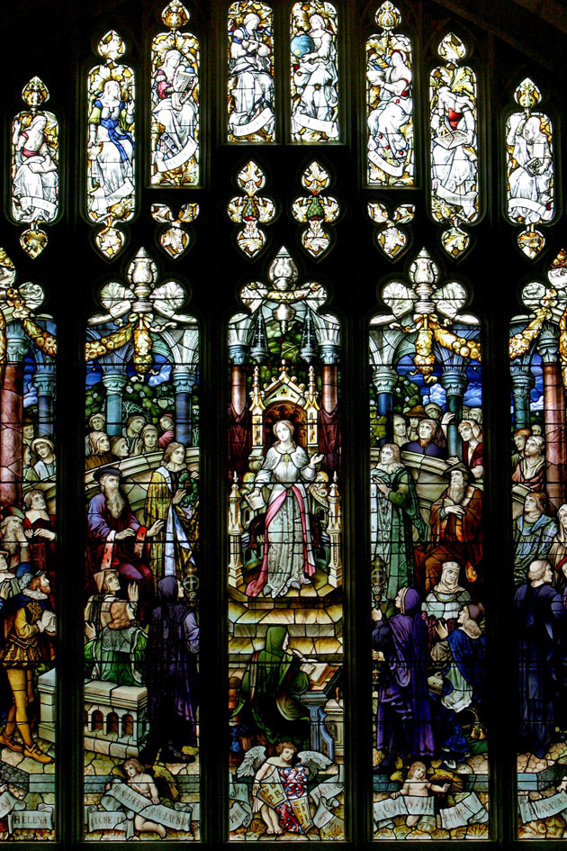 Full View of the Cornaro Window