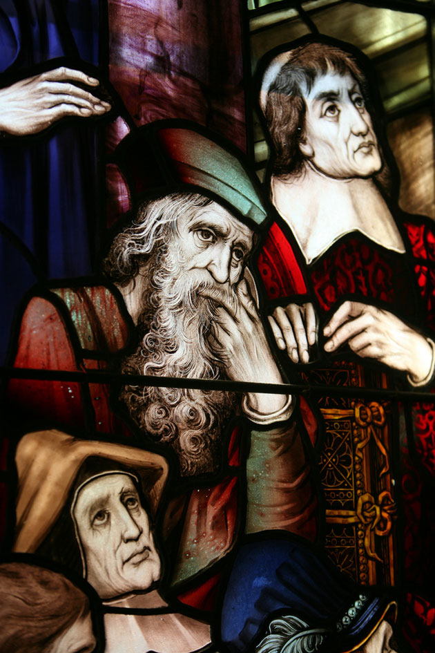 Another Detail of the Cornaro Window